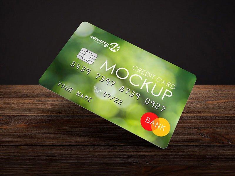 Credit Card Mockup Psd Lovely Credit Card Psd Mockup