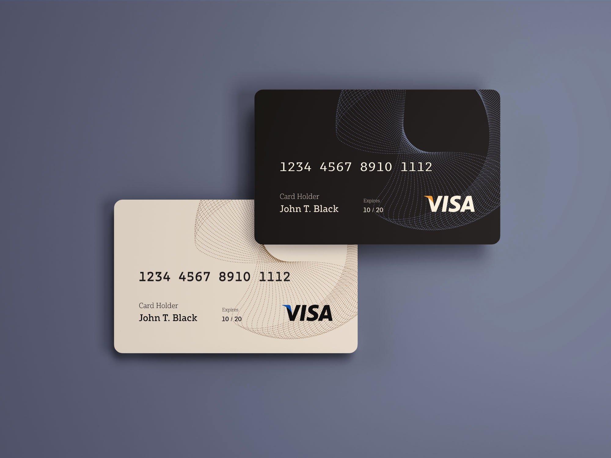 Credit Card Mockup Psd Luxury Credit Cards Mockup Psd