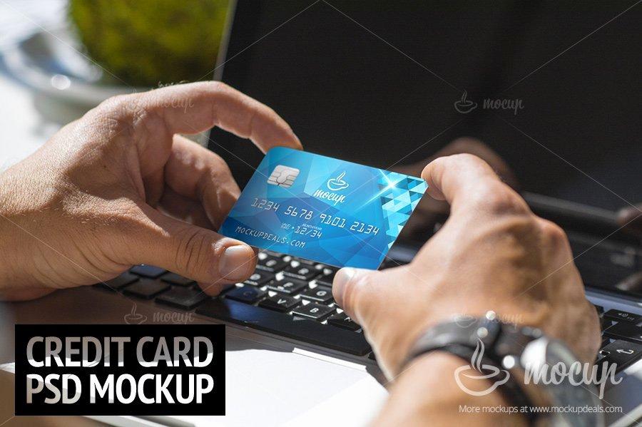 Credit Card Mockup Psd New Psd Mockup Credit Card Mockup Templates Creative Market