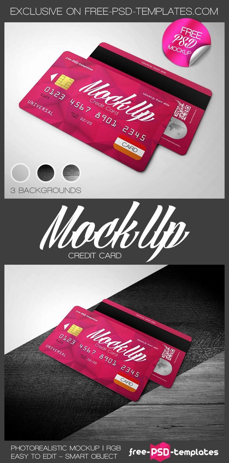 Credit Card Mockup Psd Unique Credit Card Mockup Psd