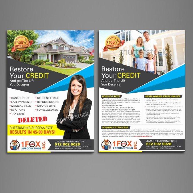 Credit Repair Flyer Template Elegant Driver Safety Education & Credit Repair
