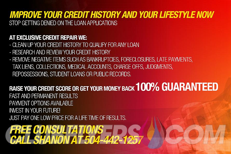 Credit Repair Flyer Template Elegant Exclusive Credit Repair