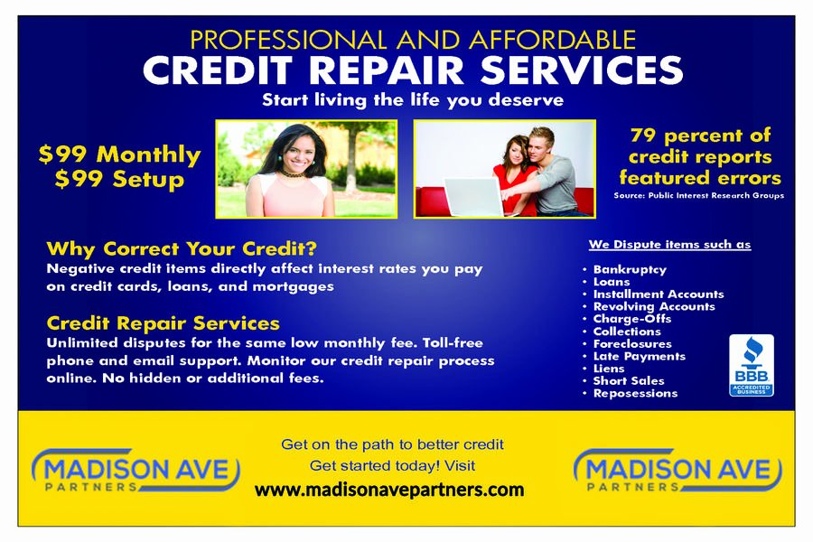 Credit Repair Flyer Template Fresh Entry 1 by Baten1717 for Credit Repair Flyer