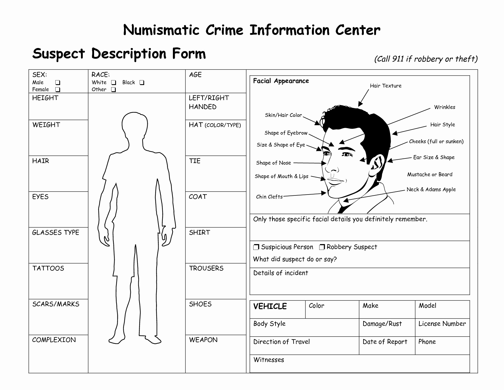 Crime Scene Report Template Best Of Suspect File Template Recherche Google Detective Lesson Ideas Pinterest