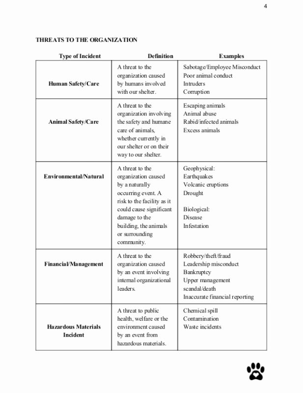 Crisis Management Plan Examples Awesome Crisis Management Plan Template