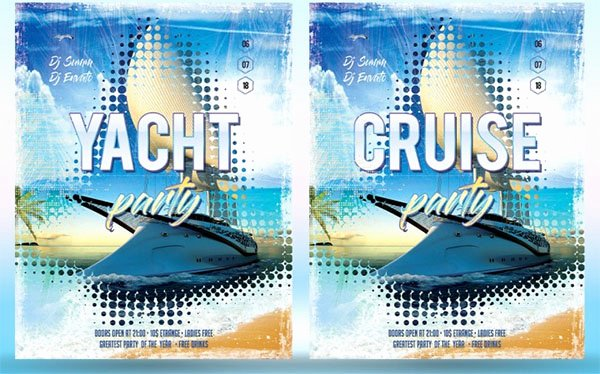 Cruise Flyer Template Free Best Of 23 Cruise Flyer Templates Free Psd Vector Eps Png Ai Downloads