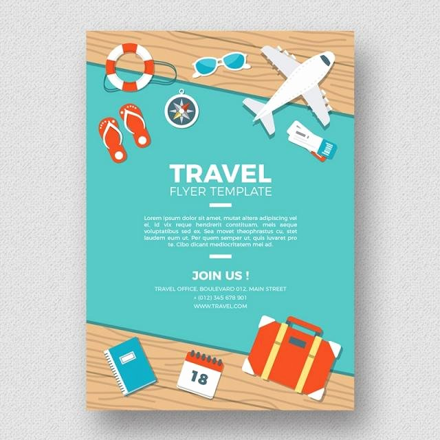 Cruise Flyer Template Free Lovely Travel Flyer Template Template for Free Download On Tree