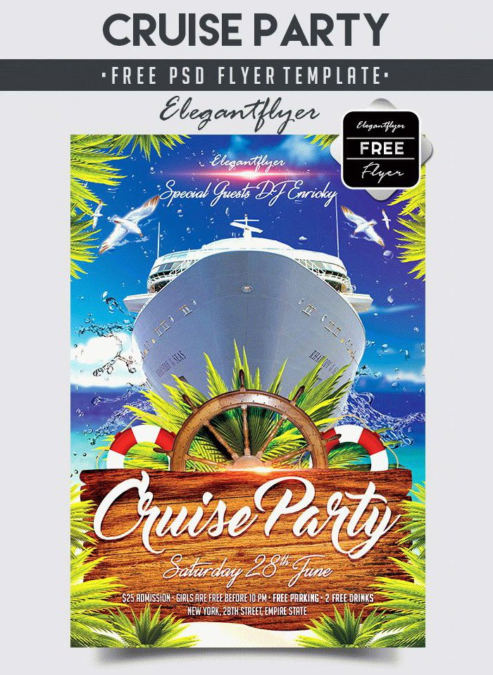 Cruise Flyer Template Free Luxury 55 Free Party & event Flyer Psd Templates Designyep