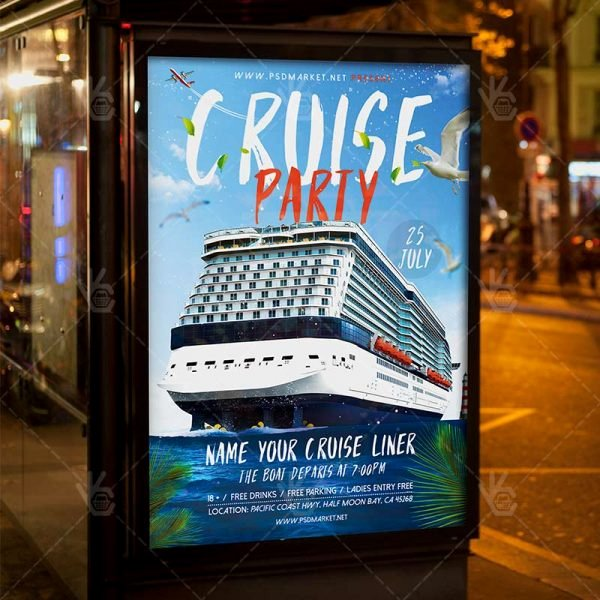 Cruise Flyer Template Free Luxury Download Cruise Flyer Psd Template