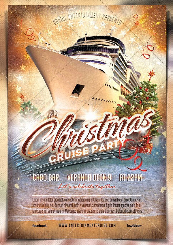 Cruise Flyer Template Free New Cruise Flyer Template 17 Free & Premium Designs Download