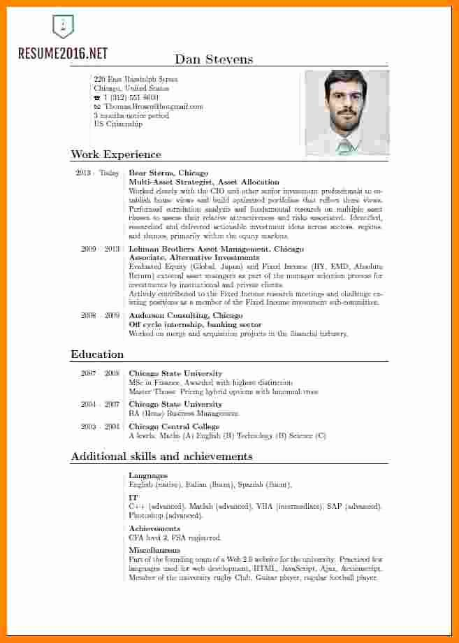 Curriculum Vitae Examples Pdf Fresh 9 Curriculum Vitae English Pdf