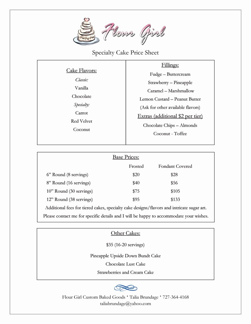 Custom Cake order form Lovely Wedding Cake order form Idea In 2017