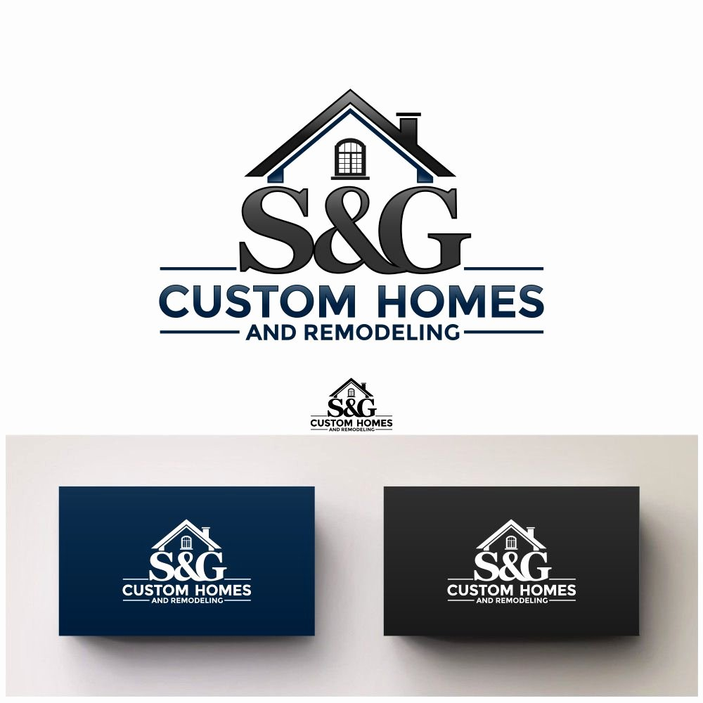 Custom Home Builder Logos Lovely 145 Elegant Playful Home Builder Logo Designs for S&g Custom Homes and Remodeling A Home Builder