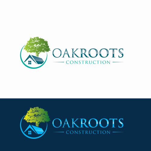Custom Home Builder Logos Unique Create An Eyecatching Logo for Custom Home Builder Oakroots Construction