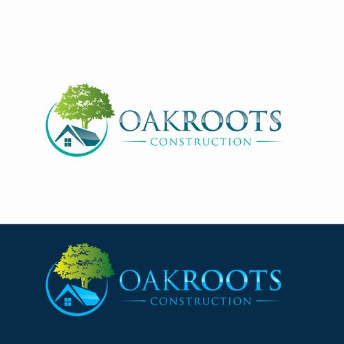 Custom Home Builder Logos Unique Create An Eyecatching Logo for Custom Home Builder Oakroots Construction