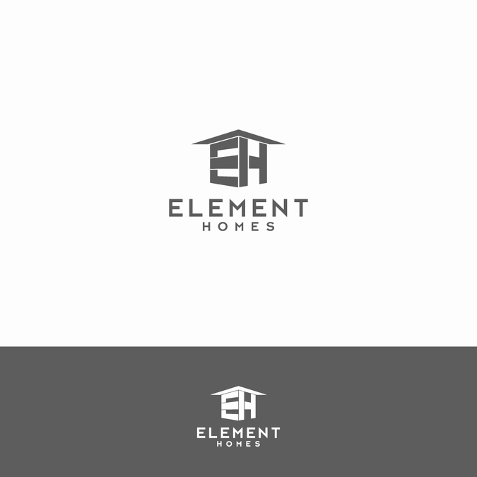 Custom Home Builder Logos Unique Modern Contemporary Home Builder Logo