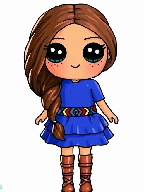 Cute Pictures to Draw Awesome Saige American Girl Doll Draw so Cute In 2019