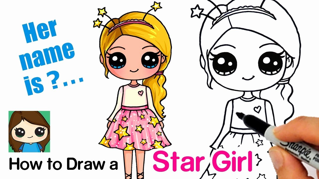 Cute Pictures to Draw Fresh How to Draw A Starshine Sparkle Cute Girl