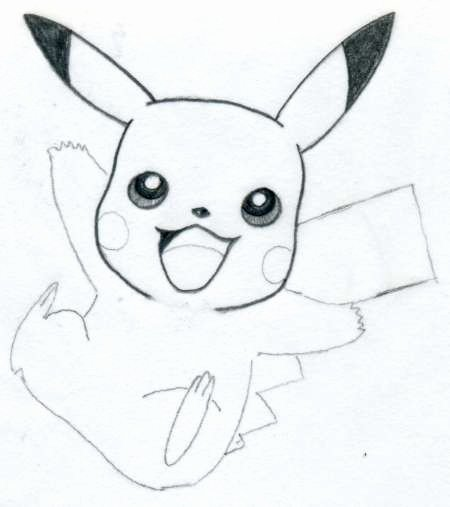 Cute Pictures to Draw Unique Draw Pikachu Quickly and Easily