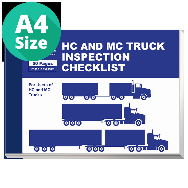 Daily Truck Inspection Checklist Fresh Daily Inspection Checklist for Hc and Mc Trucks