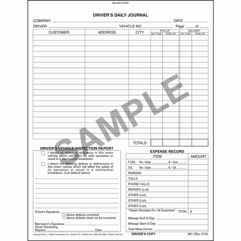 Daily Vehicle Inspection form Beautiful Dot Daily Vehicle Inspection form
