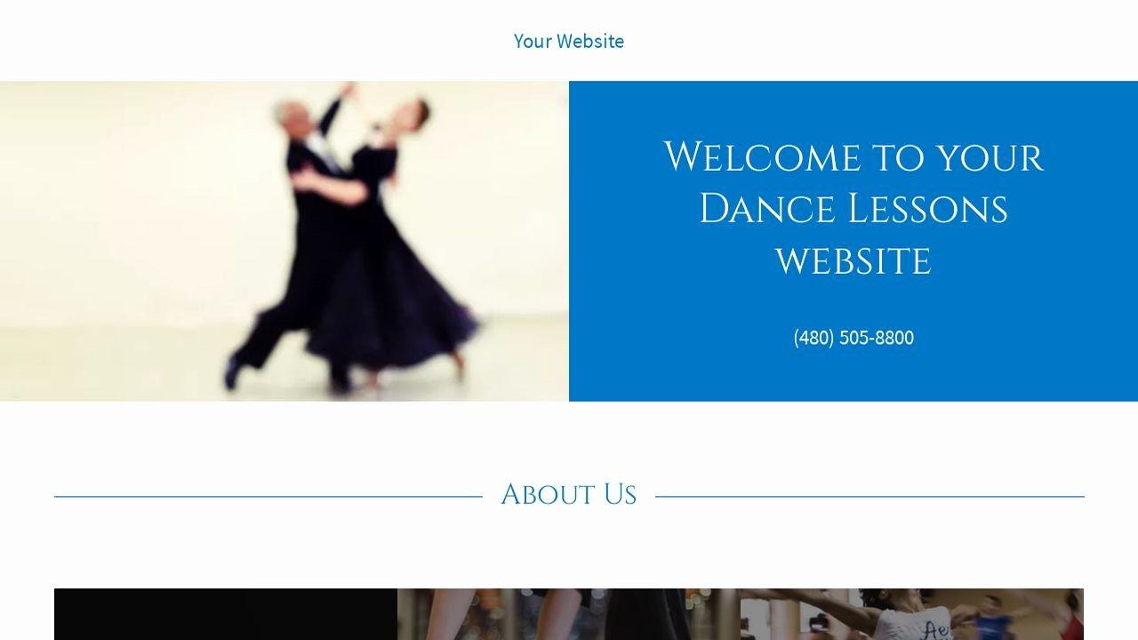 Dance Lesson Plan Template Beautiful Dance Lessons Website Templates