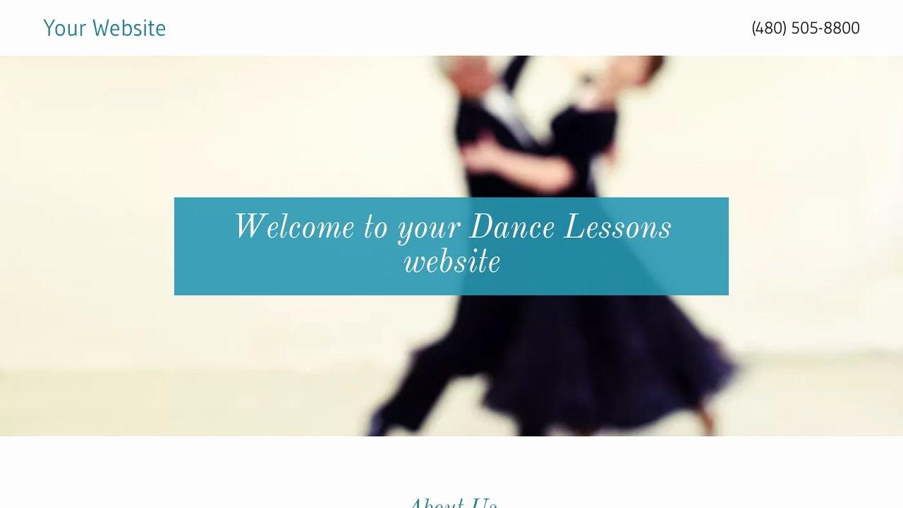 Dance Lesson Plan Template Elegant Dance Lessons Website Templates