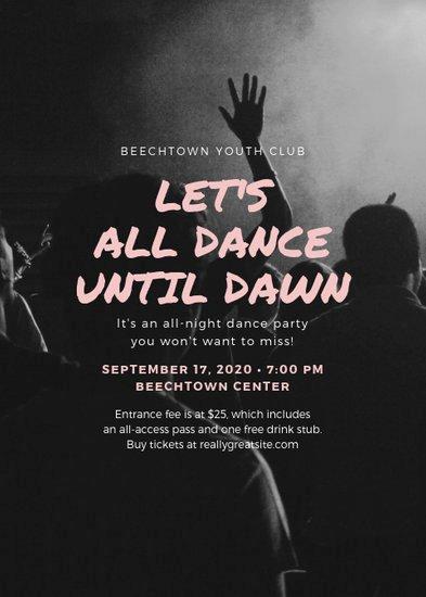 Dance Lesson Plan Template Fresh Customize 39 Dance Flyer Templates Online Canva