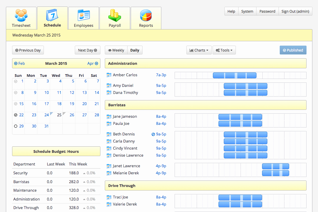 Daycare Staff Schedule Template Beautiful Staff Scheduling software Tixtime