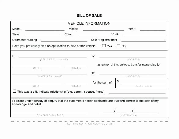 Dealer Bill Of Sale Inspirational Auto Dealer Bill Of Sale Template – Elisabethnewton