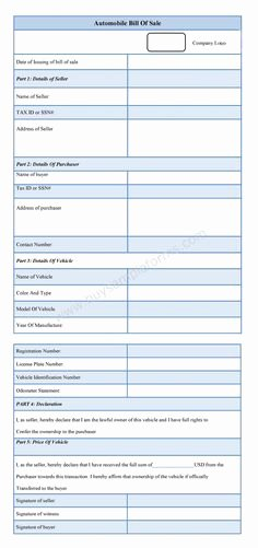 Dealer Bill Of Sale Luxury Download Sample Car Dealer Bill Of Sale Template is