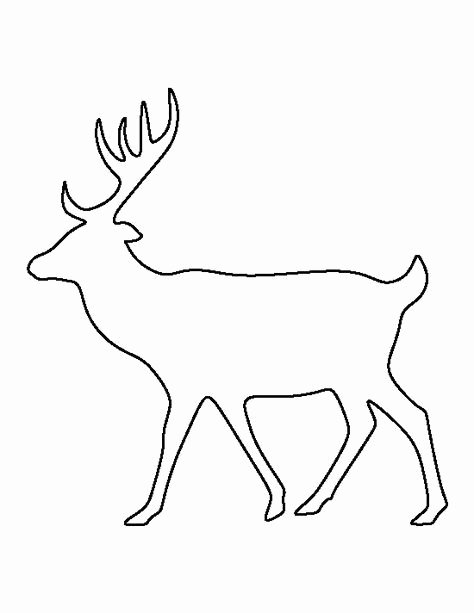 Deer Antler Printable Template Fresh Best 25 Deer Pattern Ideas On Pinterest
