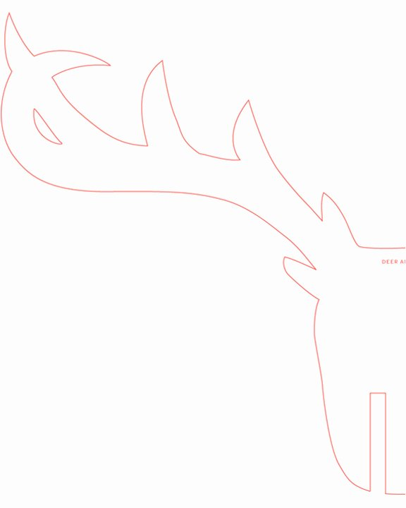 Deer Antler Printable Template Fresh Chula Belle the Ly Type Of Animal Trophy Allowed In