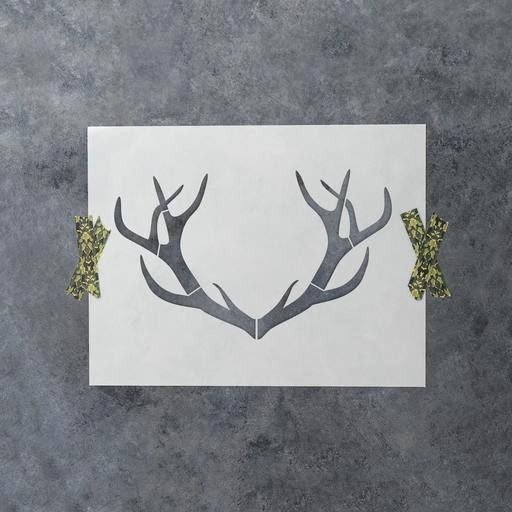 Deer Antler Printable Template Fresh Decor Stencils Laser Cut for Diy Projects Stencil Revolution