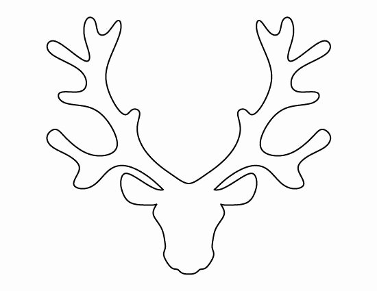 Deer Antler Printable Template Fresh Pin by Muse Printables On Printable Patterns at