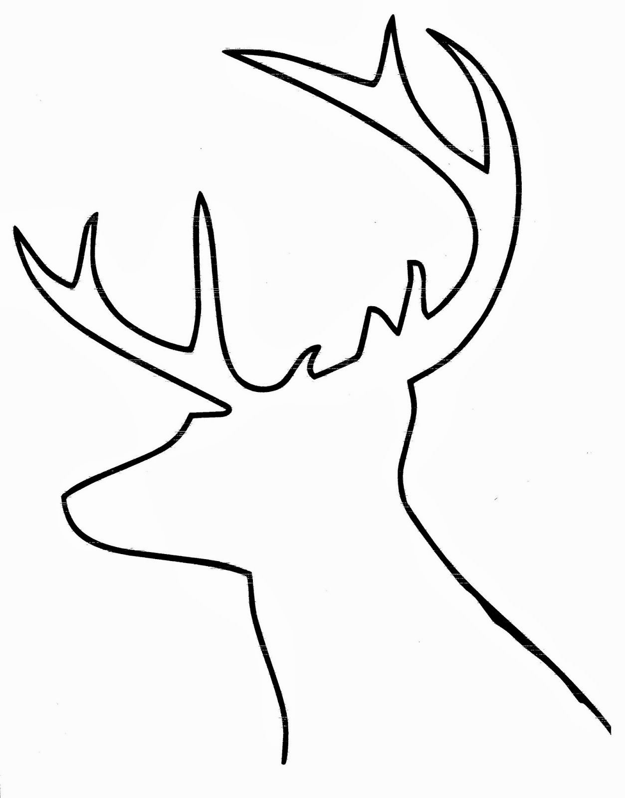Deer Antler Printable Template Luxury Pin by Robin Mcafee On Crafty Dreams