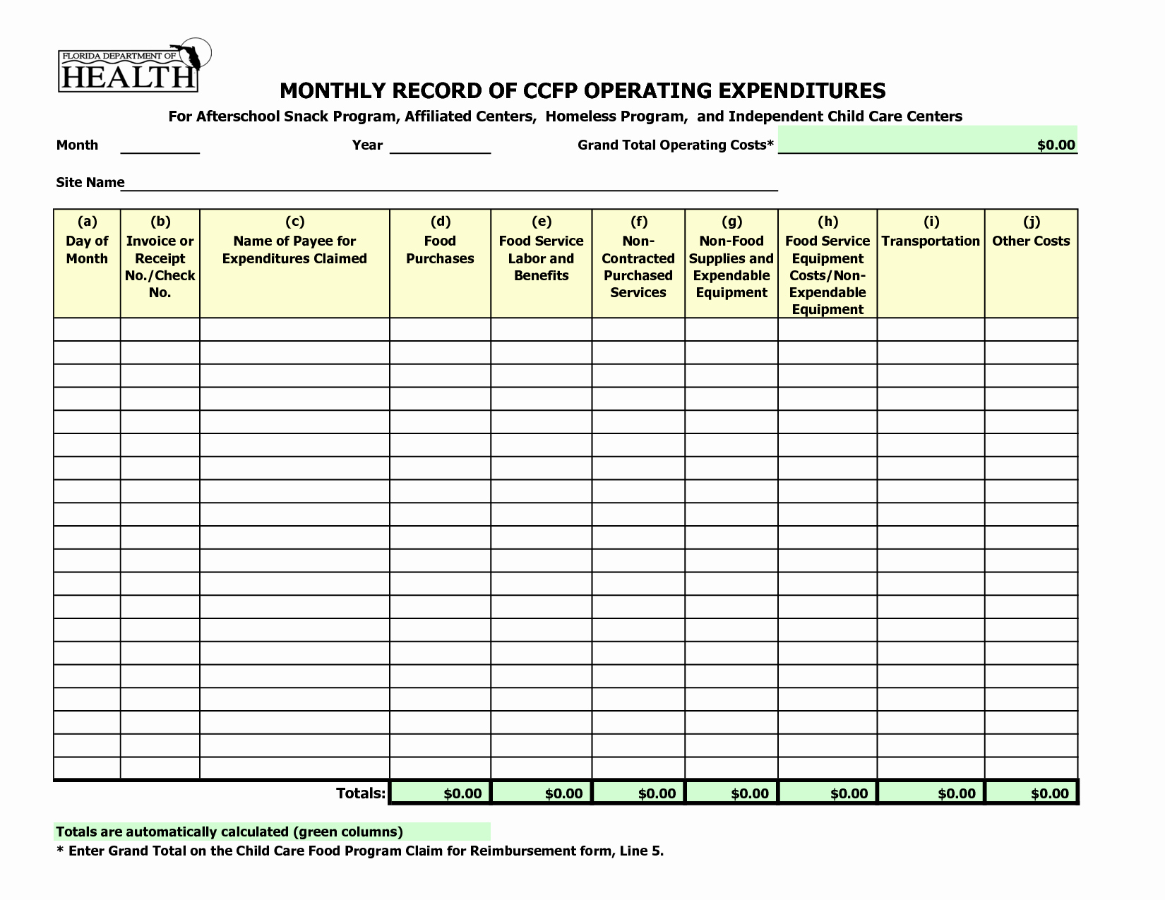 Dependent Care Receipt Template Beautiful Best S Of Monthly Payment Record form Free Payment