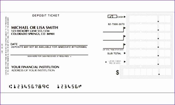 Deposit Slip Template Excel Luxury 7 Excel Deposit Slip Template Exceltemplates Exceltemplates