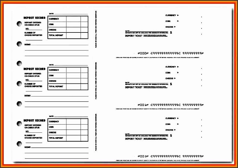 Deposit Slip Template Excel Unique 9 Deposit Slip Template Sampletemplatess Sampletemplatess