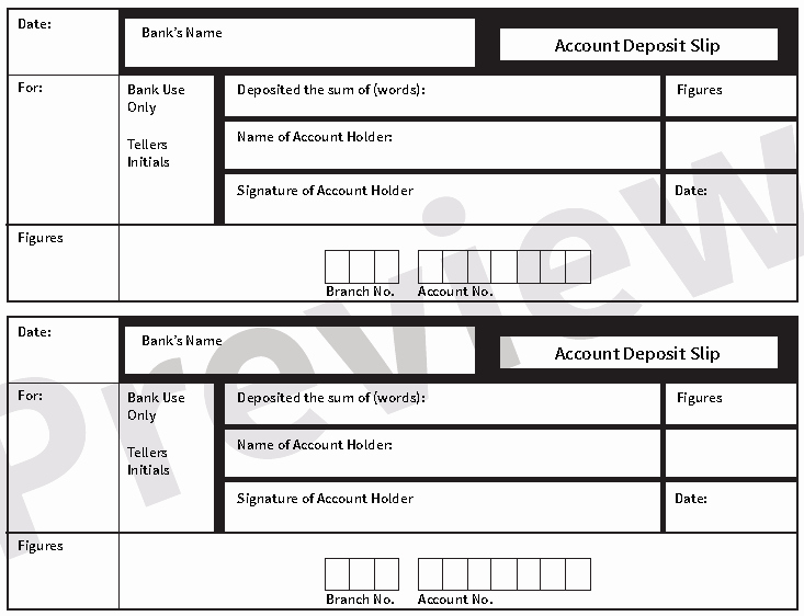 Deposit Slip Template Word Awesome 5 Free Deposit Slip Templates Small Business Resource