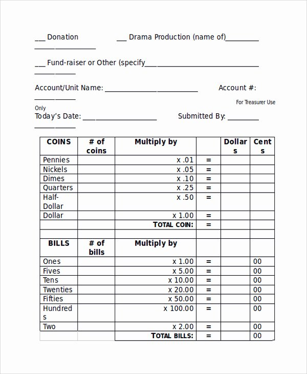 Deposit Slip Template Word Awesome Deposit Slips Examples