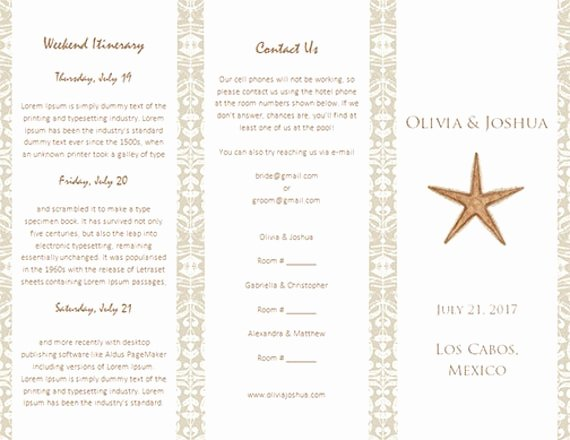 Destination Wedding Itinerary Template Best Of Destination Wedding Itinerary Template by Weddingtemplates On Etsy