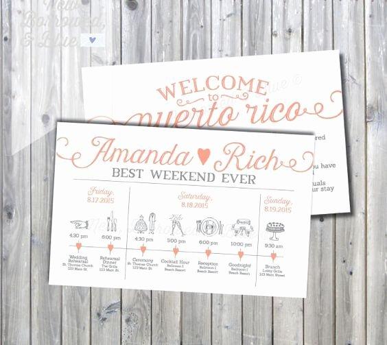 Destination Wedding Itinerary Template Unique Best 25 Wedding Itinerary Template Ideas On Pinterest