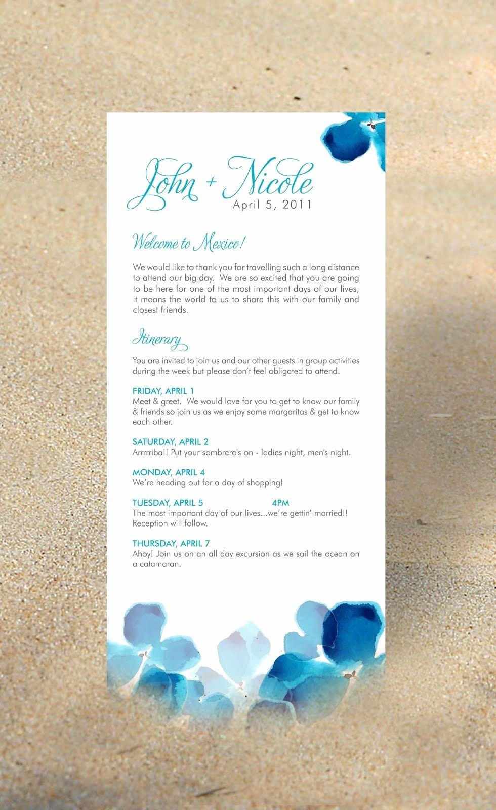 Destination Wedding Itinerary Template Unique Paper Airplanes Destination Wedding Itinerary Vegas In 2019