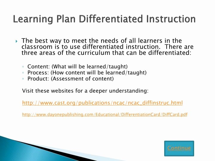 Differentiated Lesson Plan Template Inspirational Ppt Writing Lesson Plans Using the Backward Design