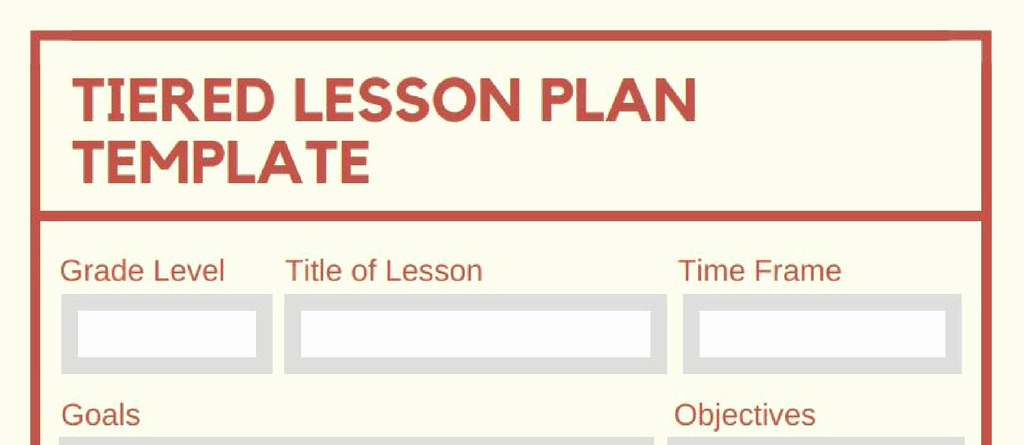 Differentiated Lesson Plan Template New 5 Downloadable Math Lesson Plan Templates for Small Group