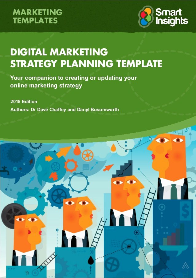 Digital Marketing Contract Template New Digital Marketing Plan Template Smart Insights