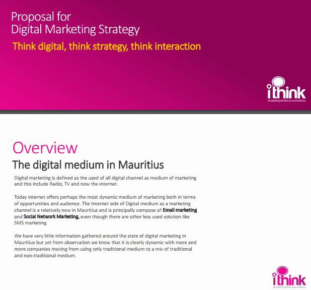 Digital Marketing Proposal Template Beautiful 4 Digital Marketing Proposal Templates Word Excel Templates