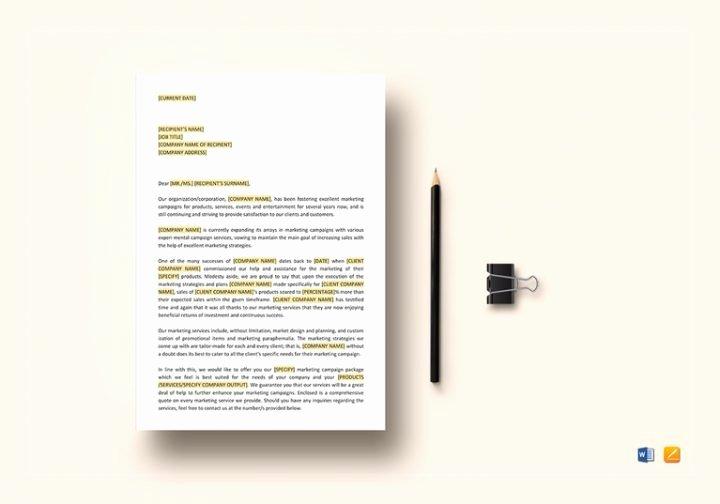 Digital Marketing Proposal Template Inspirational 5 Digital Marketing Proposal Templates Word Pages