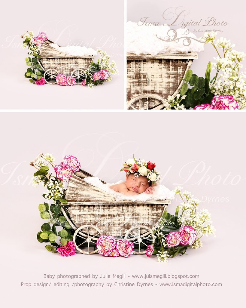 Digital Photography Backgrounds Free Download Luxury Vintage Stroller with Light Background and Flower Beautiful Digital Background Newborn
